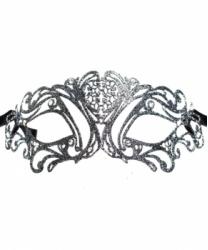 Венецианская темно-серая маска Maschile