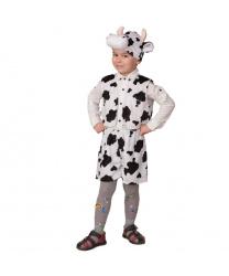 """Детский костюм """"Бычок Пёстрый, черно-белый"""""""