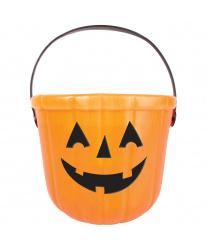 Ведёрко-конфетница на Хэллоуин