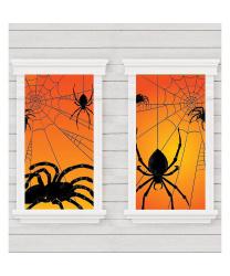 "Баннер ""Окна с пауками"""