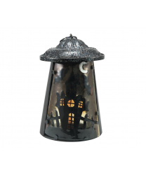"""Металлический фонарь для свечей  """"Дом-призрак"""""""