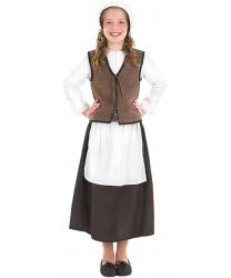 Средневековый костюм для девочки
