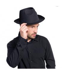 Полосатая шляпа для гангстера