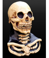 Маска скелета с шеей