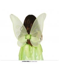 Зеленые крылья бабочки (40х45см)