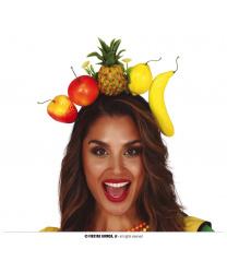 Ободок с тропическими фруктами