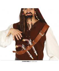 Пояс с 2 пиратскими пистолетами