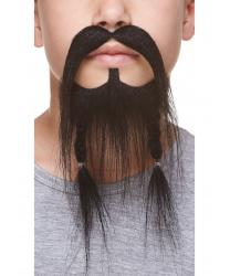 Детская пиратская борода с усами