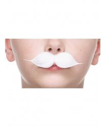 Детские белые усы