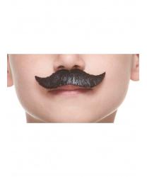 Детские черные усы хэндлбар
