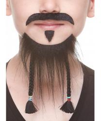 Детские борода и усы Джека Воробья