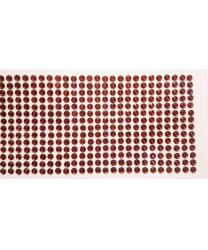 Стразы самоклеящиеся 504 шт, темно-красные
