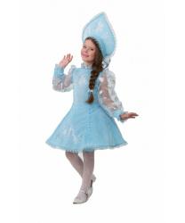 Детский костюм Снегурочки, велюр