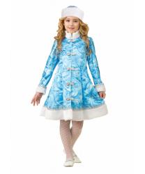 """Детский костюм """"Сказочная снегурочка"""""""