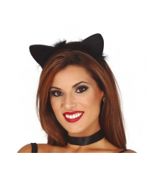 Ушки черной кошки