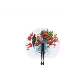Бумажный веер (сакура)
