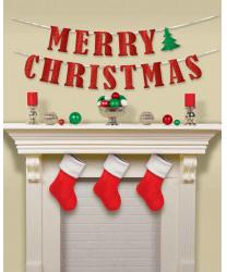 "Гирлянда на стену ""merry christmas"""