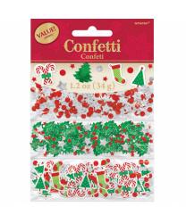 Конфетти из фольги на Рождество