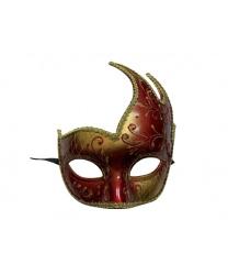 Красная ассиметричная маска