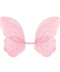 Крылья бабочки (47 х 62) розовые