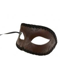 Мужская венецианская маска Arlecchino