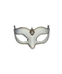 Венецианская маска Volpina, белая