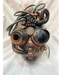 Маска в стиле Steampunk на все лицо (модель 1)