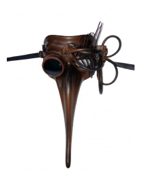 Маска Scaramuccia в стиле Steampunk, модель D