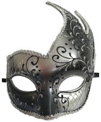 Черная ассиметричная маска