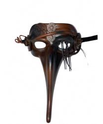 Полумаска Scaramuccia в стиле Steampunk модель A