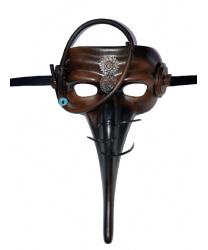 Полумаска Scaramuccia в стиле Steampunk модель B