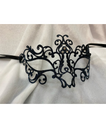 Венецианская маска синяя Bocciolo