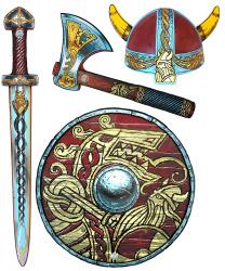 """Детский набор """"Викинг"""" с мечом"""