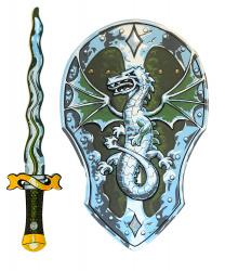 """Щит и меч """"Дракон"""""""