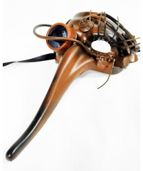 Маска Scaramuccia в стиле Steampunk, модель F