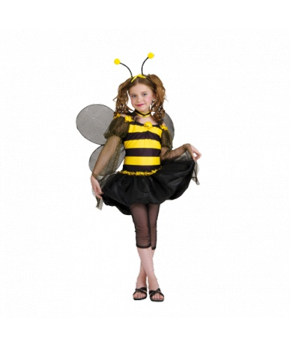 Костюм пчелки: крылья, легинсы, платье, усики-рожки (Германия)