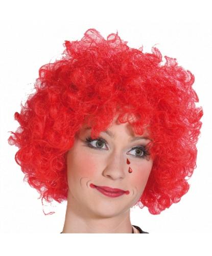 Парик клоуна: красный (Германия)