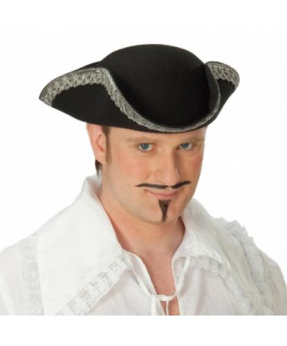 Пиратская треуголка с серебряным кантом (Германия)