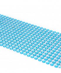 Стразы самоклеящиеся голубые (504 шт)