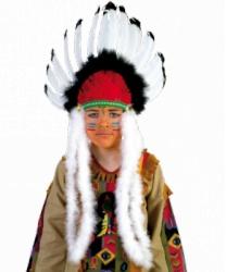 Головной убор индейцев из перьев
