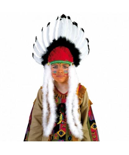 Головной убор индейцев из перьев: (Германия)