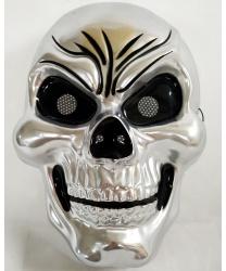 Маска серебряного черепа