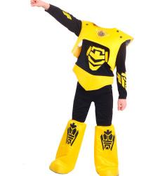 Детский костюм желтого робота (уцененный товар)