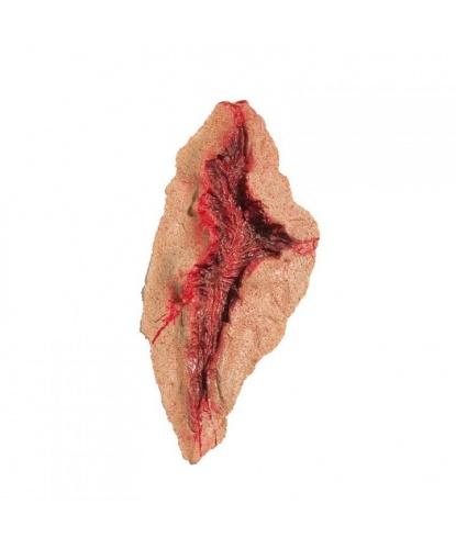 Кровавая рана с клеем(10 см), латекс (Германия)