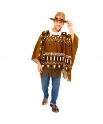 Ковбойское пончо и шляпа