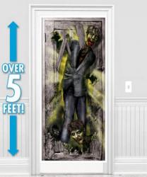 """Баннер на дверь """"Зомби"""""""