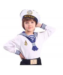 Матроска и бескозырка моряка