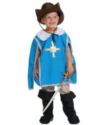 "Детский костюм ""Мушкетер синий"""