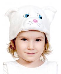 "Шапочка ""Белая кошка"""