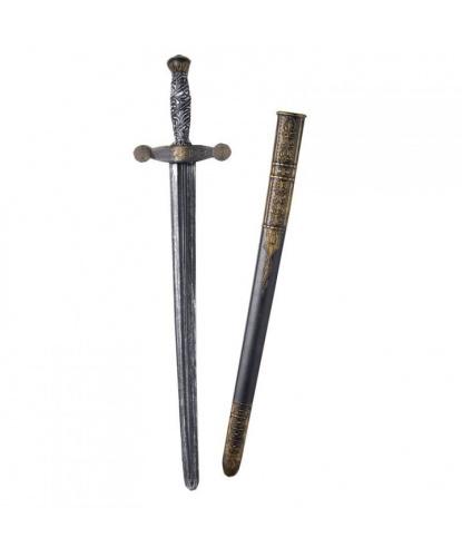 Рыцарский меч (75 см в ножнах), пластик (Германия)